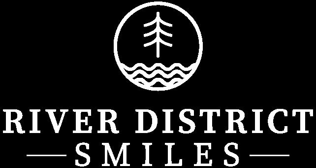 River District Smiles Logo White